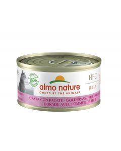Almo Nature Chat HFC Jelly Dorade et Pomme de Terre 24 x 70 g