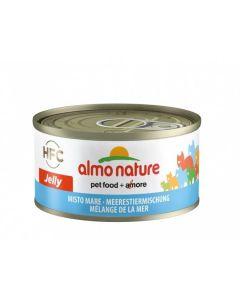 Almo Nature Chat Jelly HFC Mélange de la Mer 24 x 70 grs - La Compagnie des Animaux