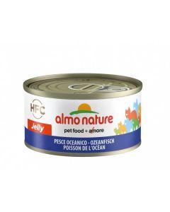 Almo Nature Chat Jelly HFC Poisson de l'Océan 24 x 70 grs - La Compagnie des Animaux