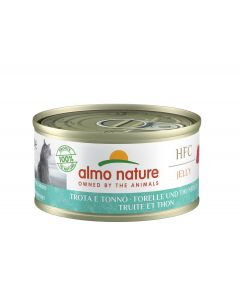 Almo Nature Chat Jelly HFC Truite et Thon 24 x 70 grs