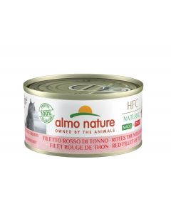 Almo Nature Chat Natural HFC Made In Italy Filet Rouge de Thon 24 x 70 g
