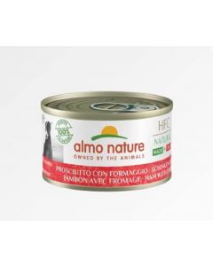 Almo Nature Chien Natural HFC Made In Italy Jambon Parmesan 24 x 95 g
