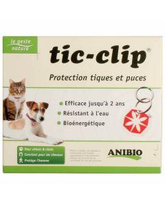 Anibio Médaille Tic-clip chien et chat - Dogteur