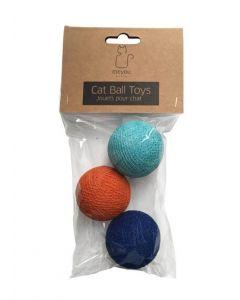 Meyou Balles pour chat x 3