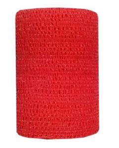Bandes Cohésives 10 cm Rouge