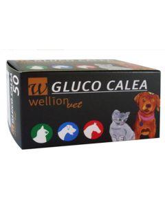 WellionVet Bandelettes pour Glucomètre Gluco Calea 50 p