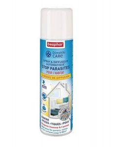 Beaphar Diméthicare Spray et diffuseur automatique stop puces pour l'habitat 250 ml