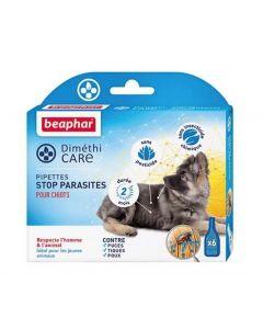 Beaphar Diméthicare Stop Parasites 6 pipettes pour chiots- La Compagnie des Animaux