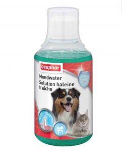 Beaphar Mondwater, solution haleine fraîche pour chien et chat 250 ml- La Compagnie des Animaux