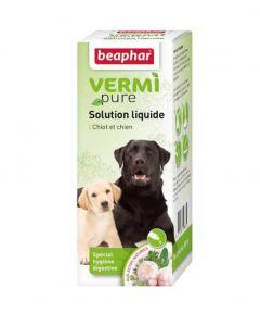 Beaphar Vermipure pour chiot et petit chien -15 kg 50 ml- La Compagnie des Animaux