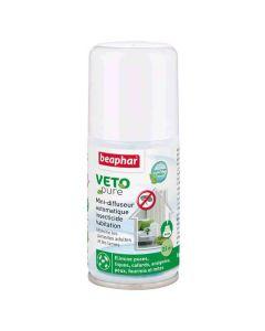 Beaphar VETOpure Mini-Diffuseur automatique insecticide habitation 75 ml (25 m²)- La Compagnie des Animaux
