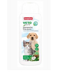 Beaphar VETOpure Shampooing Stop puces 250 ml- La Compagnie des Animaux