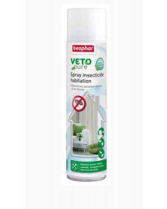Beaphar VETOpure Spray insecticide habitation 400 ml- La Compagnie des Animaux