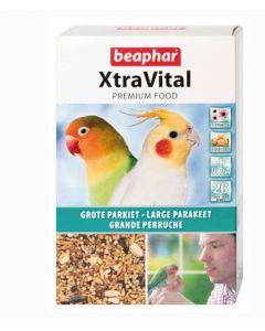 Beaphar XtraVital grandes perruches 1 kg- La Compagnie des Animaux