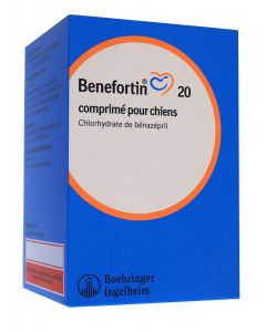 Benefortin 20 mg 14 cps- La Compagnie des Animaux