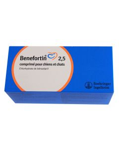 Benefortin 2,5 mg 14 cps- La Compagnie des Animaux