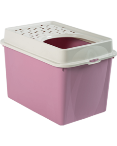 Berty Cat Toilet Top Rotho Mypet Rose - La Compagnie des Animaux