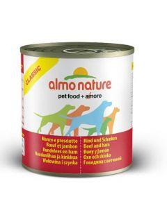 Almo Nature Chien Classic Boeuf et Jambon 12 x 290 grs