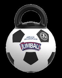 Bubimex Ballon sauteur de foot avec poignée - La Compagnie des Animaux