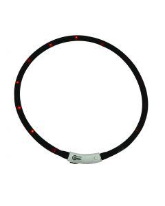 Bubimex Collier Lumineux LED noir 20-70 cm - La Compagnie des Animaux