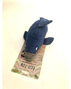 Bubimex Eco Toys peluche dauphin bleu
