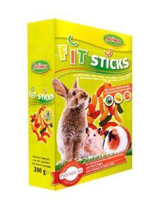 Bubimex Fit Sticks pour rongeurs 200 g