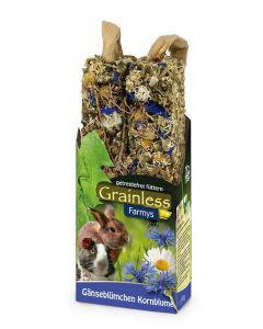 JR Grainless Farmys snack marguerites & centaurée - La Compagnie des Animaux