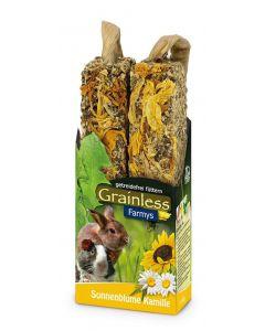 JR Grainless Farmys snack tournesol & camomille - La Compagnie des Animaux