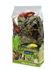 JR Grainless Plus snack sauge & pissenlits - La Compagnie des Animaux