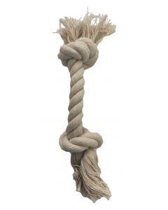 Bubimex Nature Label jouet corde 100% naturelle 26 cm - La Compagnie des Animaux