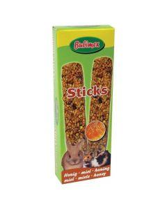 Bubimex Sticks au miel pour rongeurs 110 g x 2 - La Compagnie des Animaux
