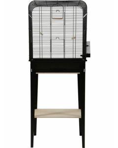 Zolux Cage Chic Loft Noir pour oiseaux M