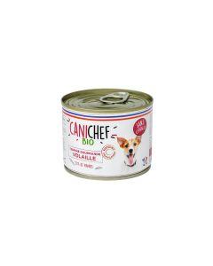 Canichef Terrines gourmandes BIO volaille sans céréales Chien 12 x 200 g