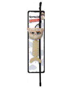 Canne à pêche Grumpy Cat pour chat - La Compagnie des Animaux