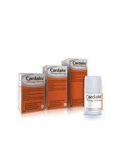 Cardalis 2,5/20 mg 90 cps