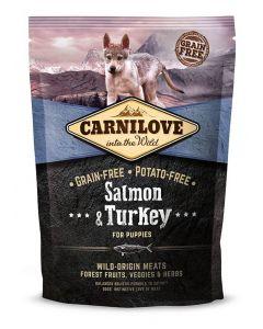 Carnilove Saumon et Dinde chiot 1,5kg - La Compagnie des Animaux