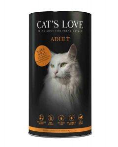 CAT'S LOVE Croquettes Adultes dinde et gibier 1 kg- La Compagnie des Animaux