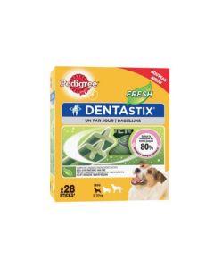 Pedigree Dentastix Fresh pour petits chiens 28 bâtonnets