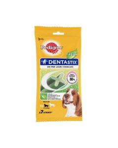 Pedigree Dentastix Fresh pour chiens moyens 7 bâtonnets