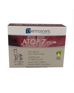 Dermoscent Atop 7 Spot-on pour chat et chien 0-10 kg