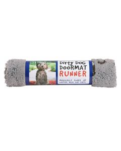 DGS Dirty Dog Doormats Runner tapis gris - La Compagnie des Animaux