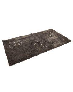 DGS Dirty Dog Doormats Runner tapis gris foncé - La Compagnie des Animaux