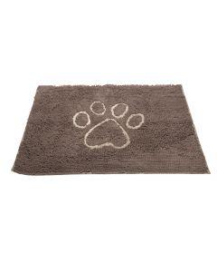 DGS Dirty Dog Doormats Tapis gris foncé - La Compagnie des Animaux