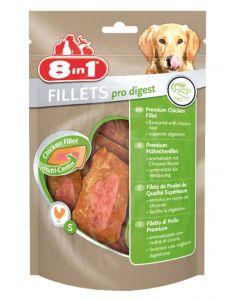 8in1 Fillets Pro Digest pour chien 80 g MULTIPACK lot de 8