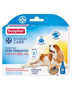 Beaphar Diméthicare Stop Parasites 6 pipettes pour petit chien