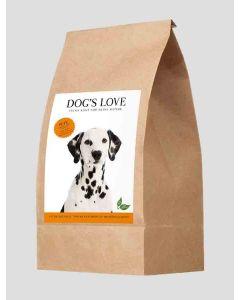 DOG'S LOVE Croquettes dinde 2 kg- La Compagnie des Animaux