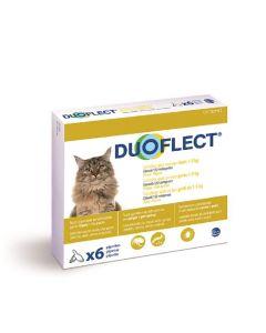 Duoflect CHATS 1-5 kg et Chiens 1-2 kg 6 pipettes - 12 mois