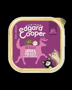 Edgard & Cooper Délicieux Gibier & Volaille pour chat - La Compagnie des Animaux