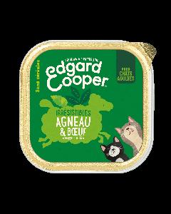 Edgard & Cooper Irresistibles Agneau & Boeuf pour chat - La Compagnie des Animaux