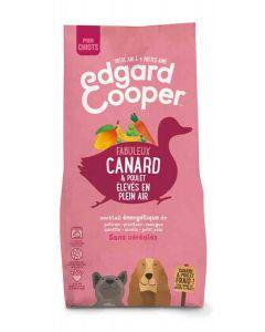 Edgard & Cooper Croquettes Canard et Poulet frais sans céréale Chiot 12 kg- La Compagnie des Animaux